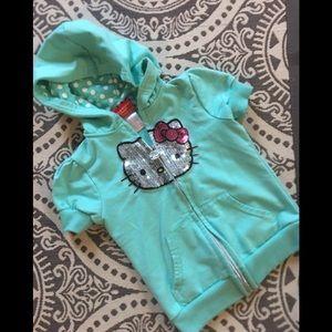 Hello kitty kids hoodie